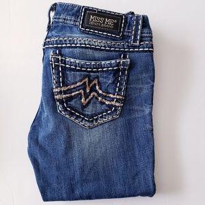 MISS ME DENIM BRAND Sunny Skinny light-wash Jeans